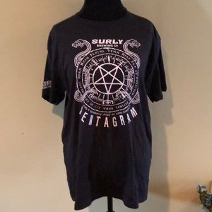 NWOT Men's Surly Brewing Co Tee Shirt
